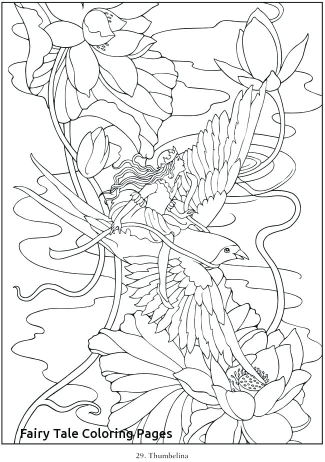 650x924 Fairy Tale Coloring Sheets