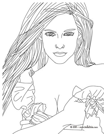 Coloring Pages Fashion Designer