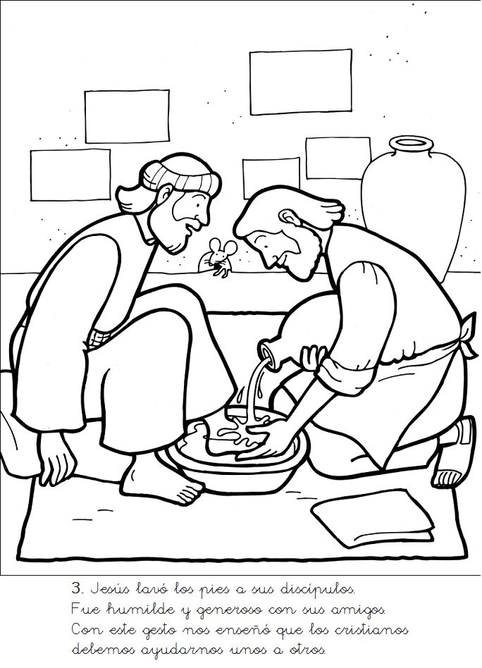Coloring Pages Feet