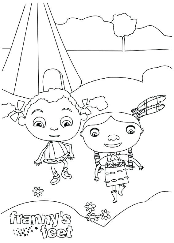 567x794 Frannys Feet Coloring Pages Frannys Feet Coloring Pages Feet