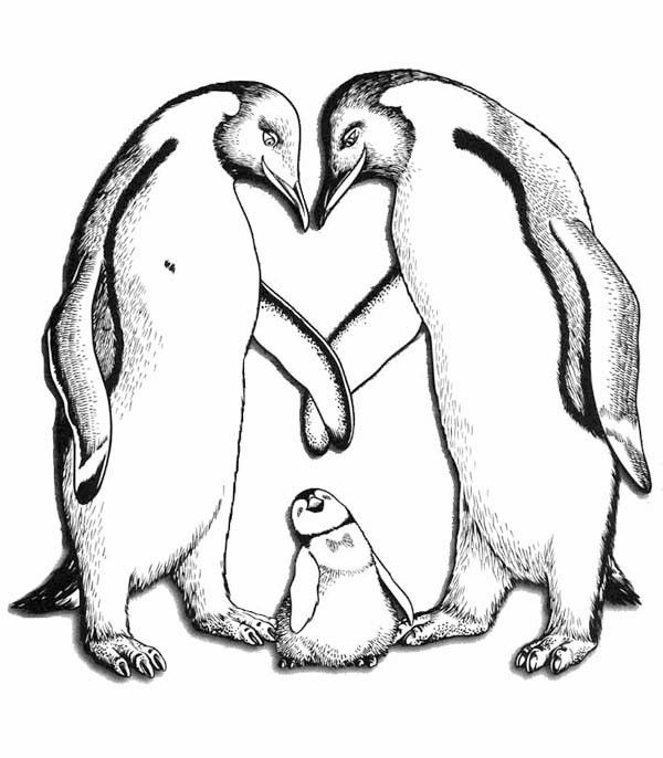 600x686 Happy Feet Parents Love Him So Much Coloring Pages Bulk Color