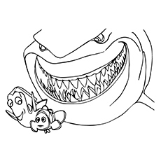 Coloring Pages Finding Dory
