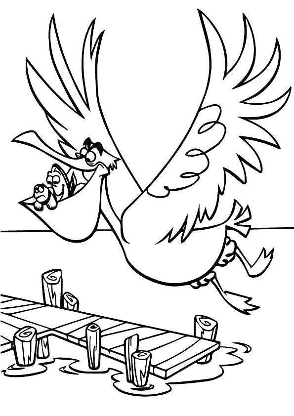 595x842 Finding Nemo Coloring Page