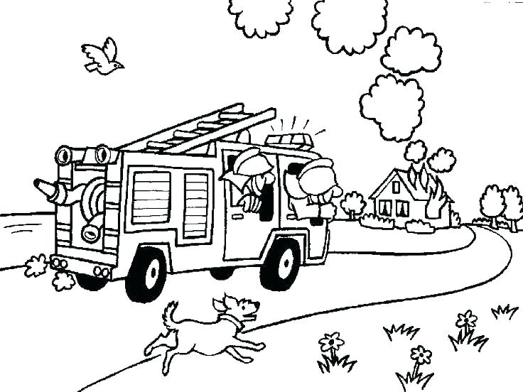 736x552 Fire Safety Coloring Pages Fire Safety Colouring Pages Idea