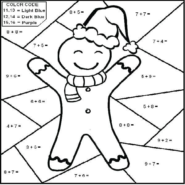 600x600 Grade Math Coloring Worksheets