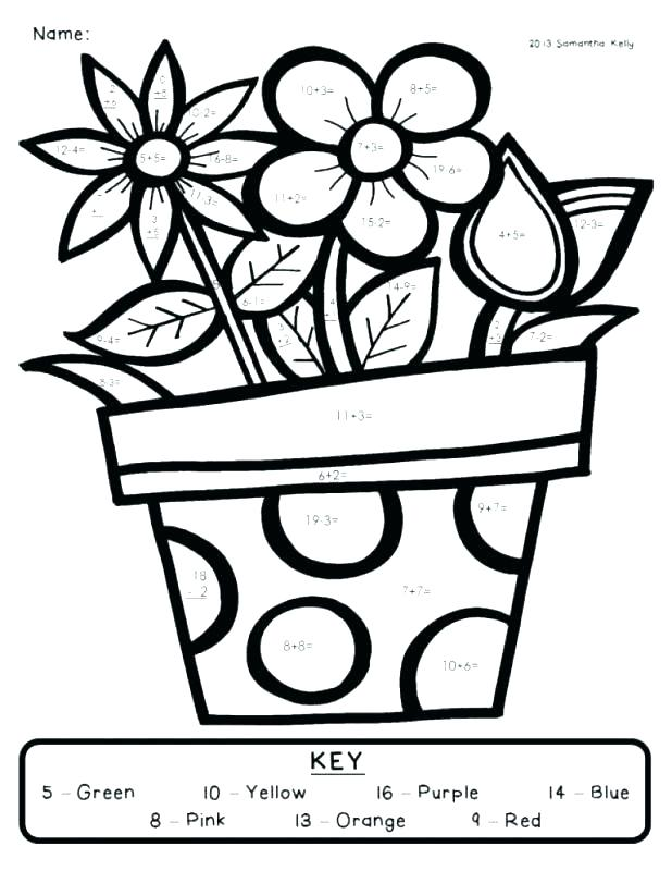 618x800 First Grade Coloring Pages Free Math Coloring Sheets For First