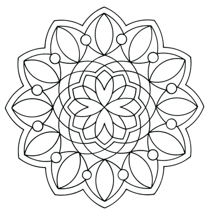 692x713 Grade Coloring Pages