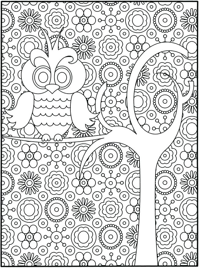 650x876 Coloring Pages For Year Olds Free Owl Coloring Page Free