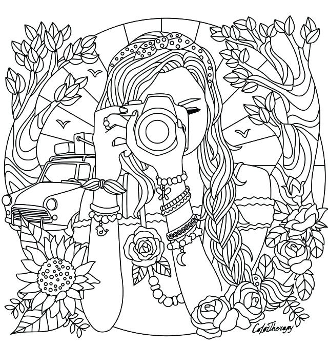 Coloring Pages For A Girl At Getdrawingscom Free For Personal Use