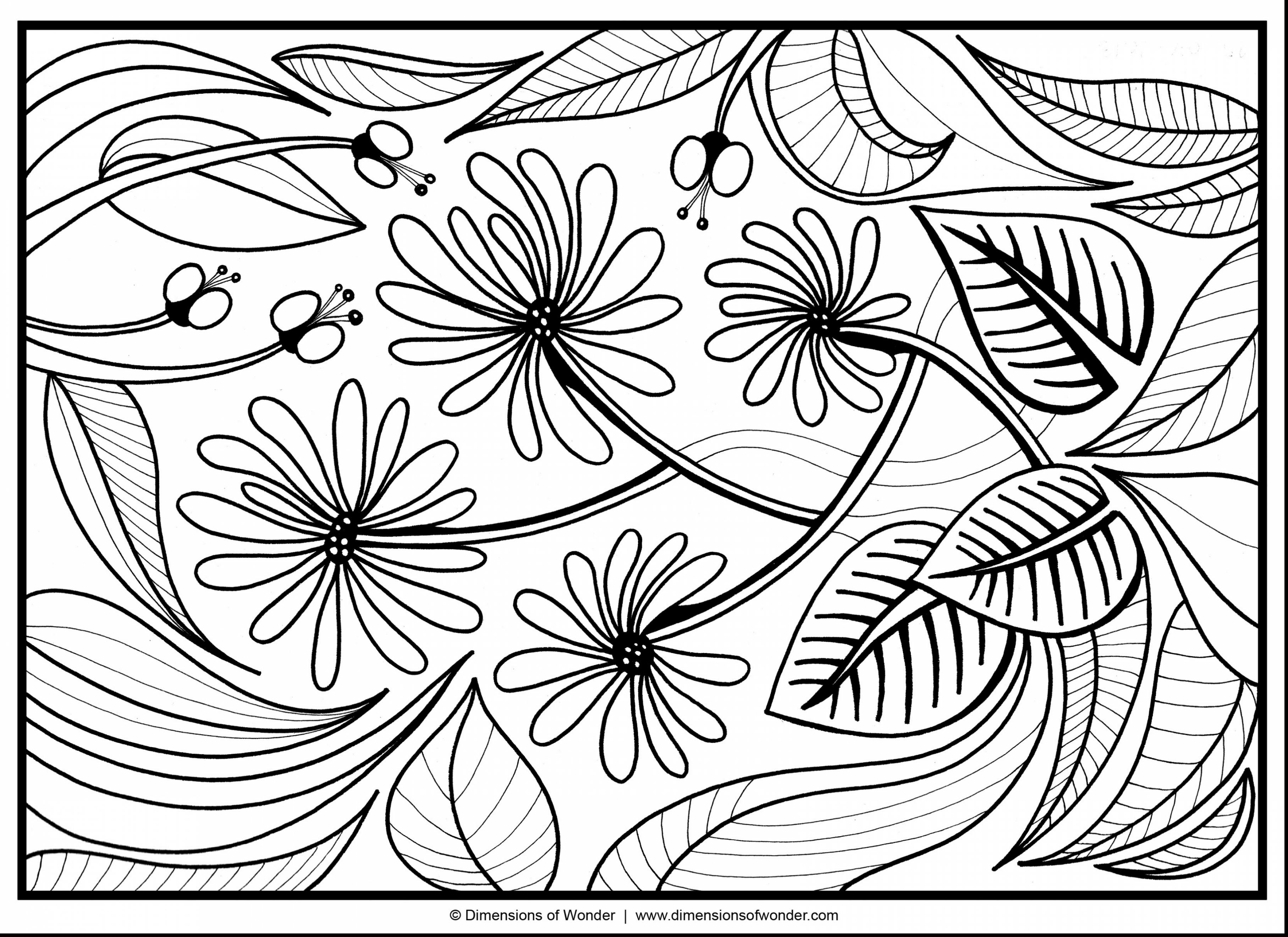 3630x2640 Awesome Impressive Abstract Flower Coloring Pages For Adults