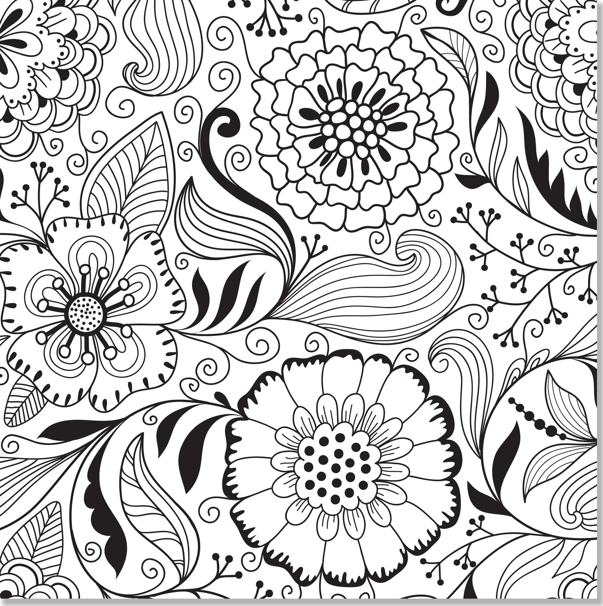 2546x2560 Elegant Adult Coloring Pages Abstract Childlife Free Coloring