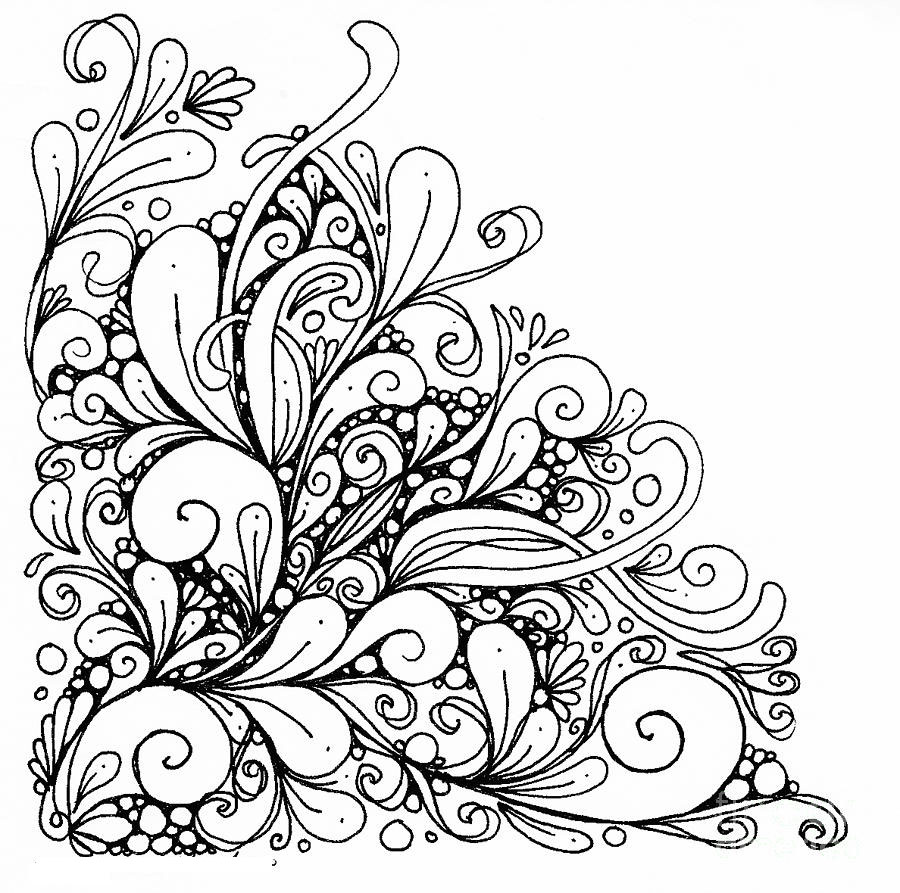 900x893 Flower Mandala Coloring Adult Pages