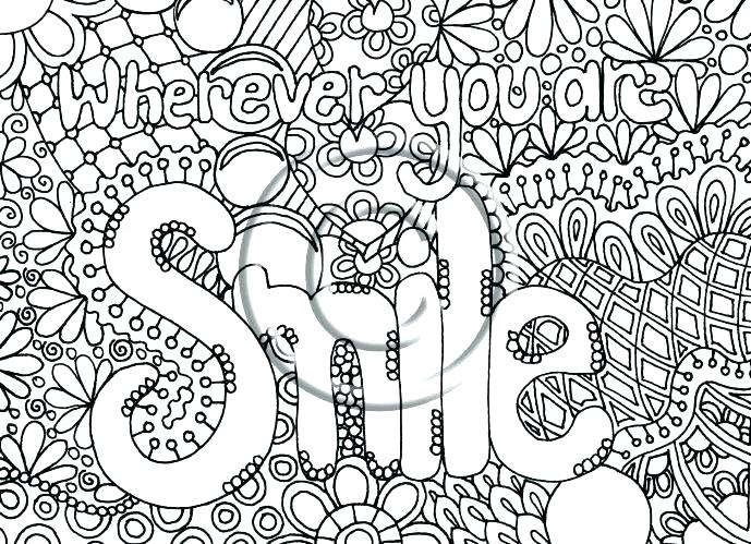 689x499 Abstract Coloring Pages For Adults Decorative Ornamental Peacock