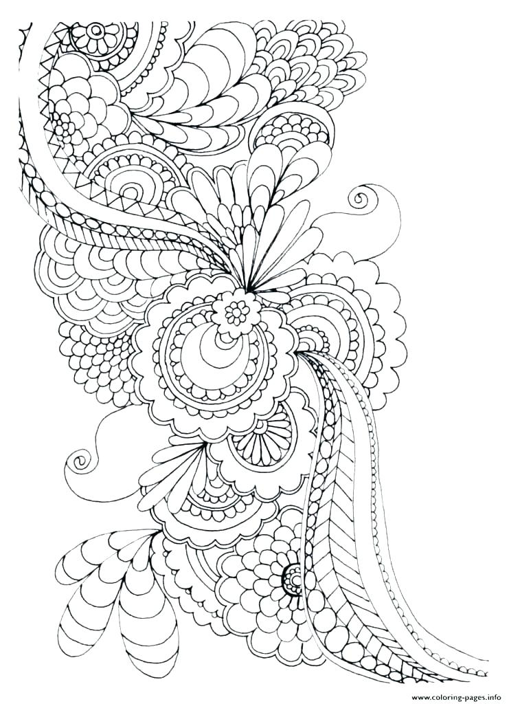 741x1024 Adult Coloring Pages Flowers Butterfly And Flower Coloring Pages