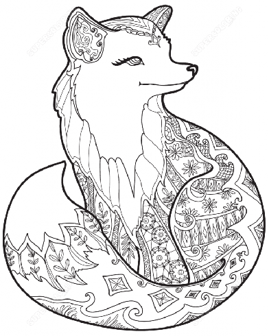 Coloring Pages For Adults Animal at GetDrawings.com | Free ...