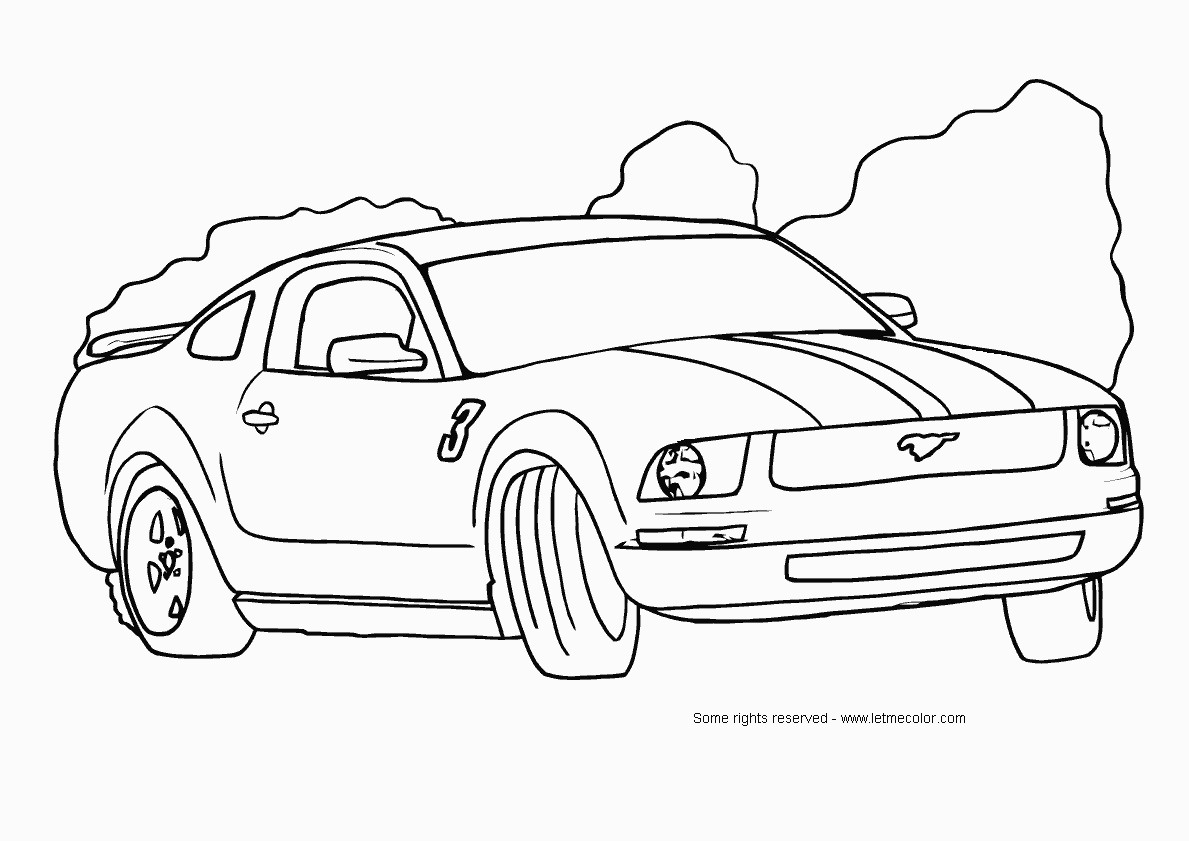 Coloring Pages For Adults Cars