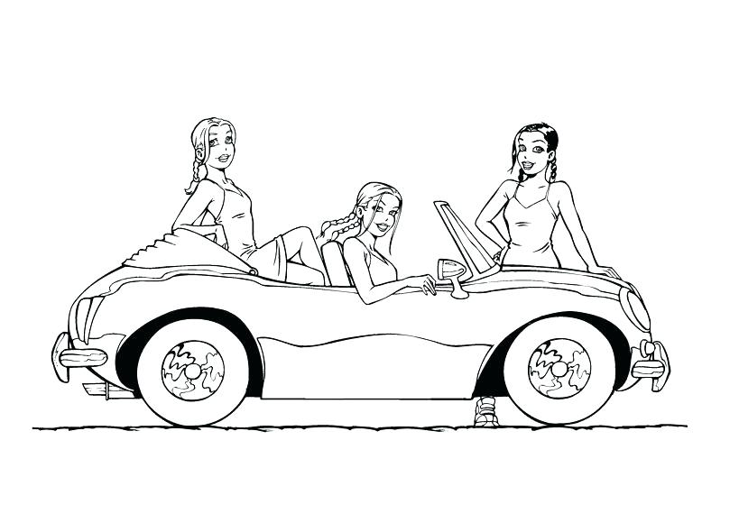 819x580 Classic Car Coloring Pages Photos Classic Car Coloring Pages