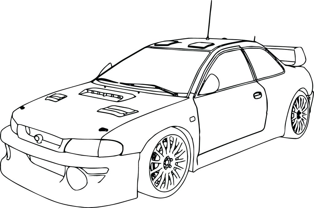1024x680 Cool Car Coloring Pages Drawn Race Car Colouring Sheet Pencil Free