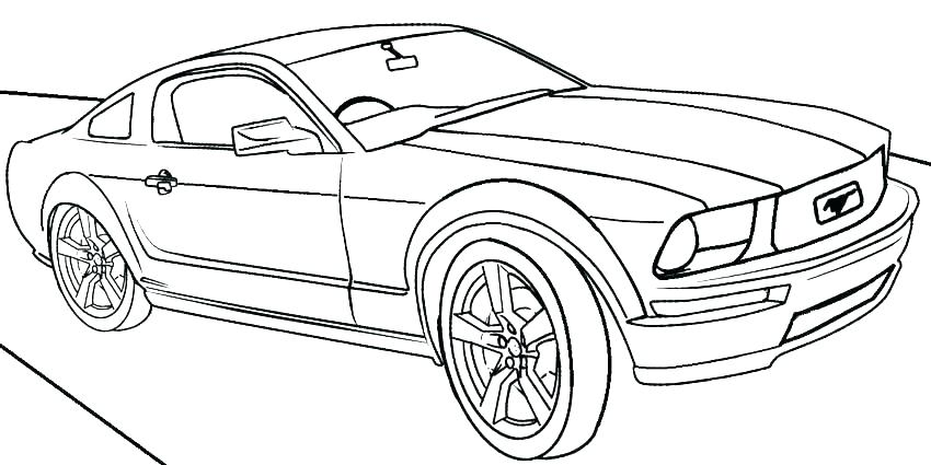 850x425 Coloring Pages To Print Cars Deepart