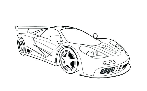 600x372 Nice Car Coloring Pages Professional