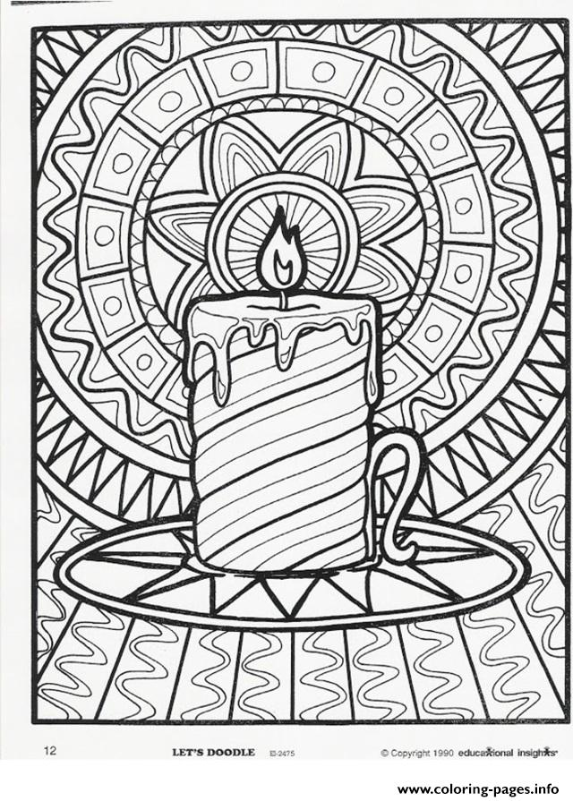 640x895 Printable Christmas Coloring Pages For Adults Best Christmas
