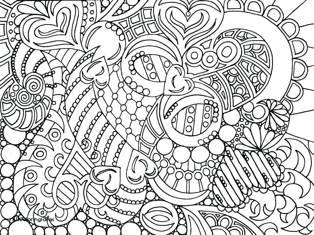1024x766 Abstract Coloring Pages Hard Coloring Pages Difficult Abstract
