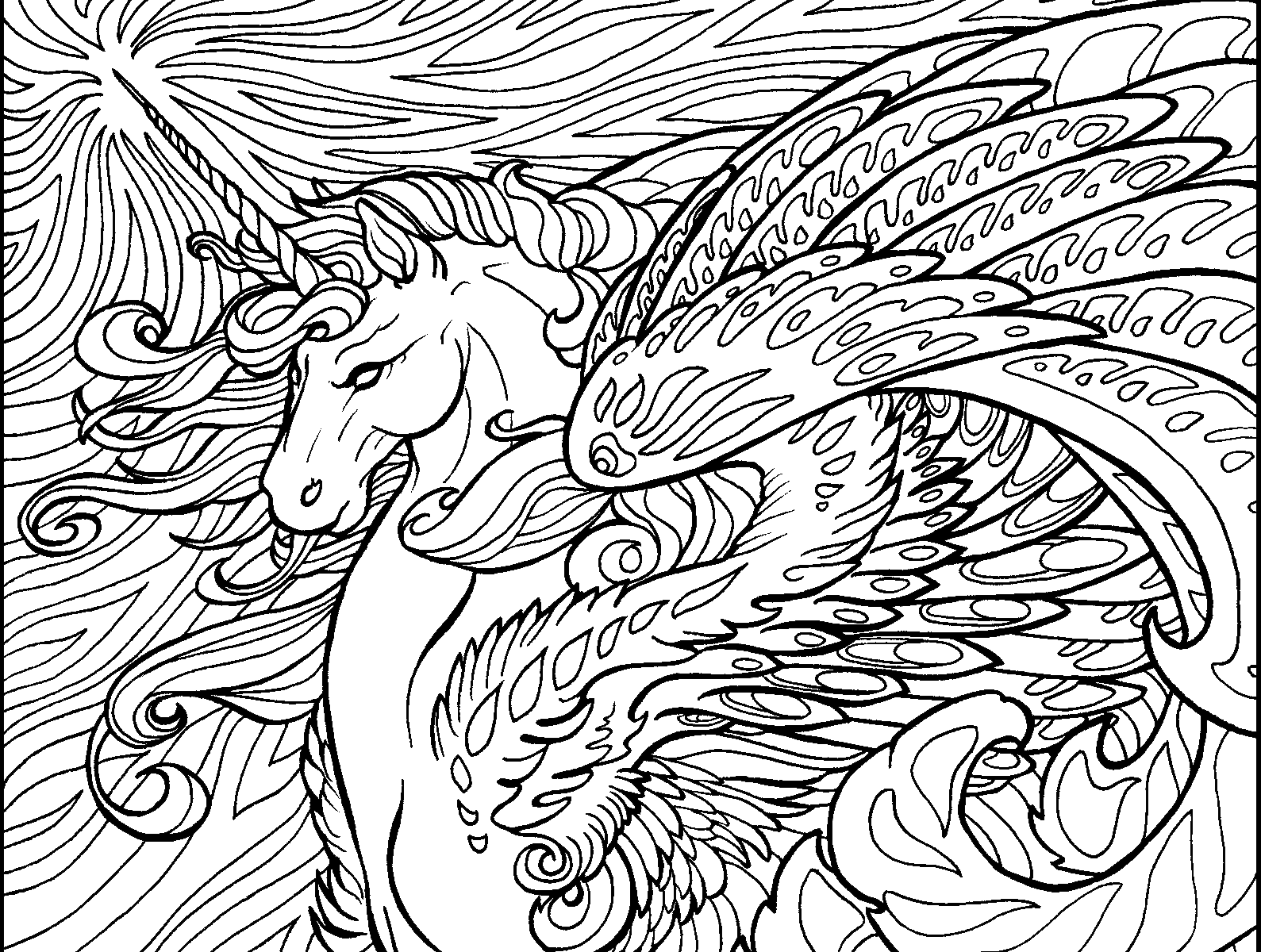 1589x1200 Adults Coloring Pages Hard Fresh Difficult Printable Image
