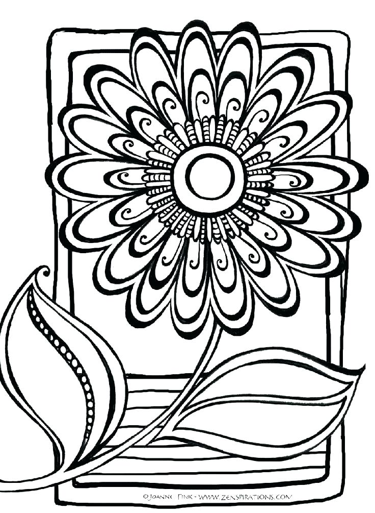 736x1005 Coloring Pages For Adults Abstract Animals Hard Free Difficult