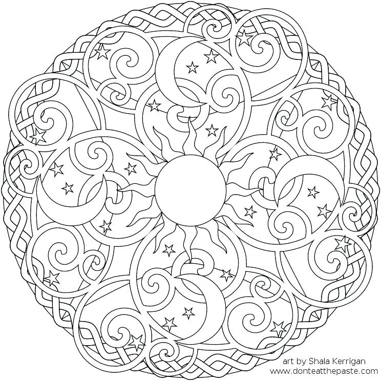 744x744 Hard Color Pages Epic Hard Coloring Pages For Kids Online