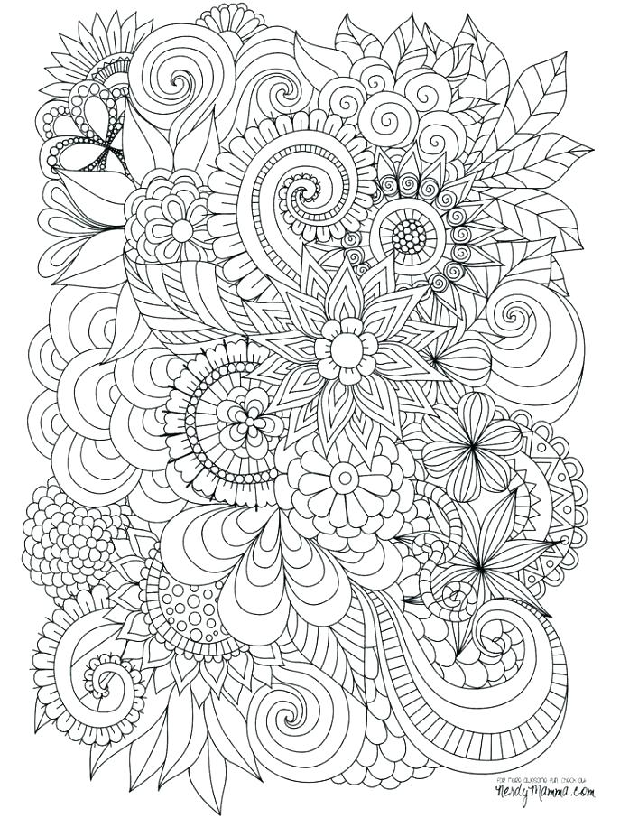 687x906 Hard Coloring Pages For Adults As Awe Inspiring Mesmerizing Super