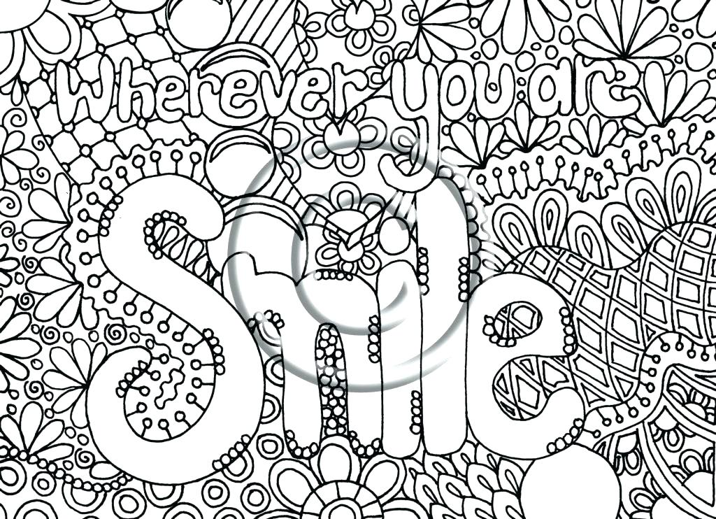 Coloring Pages For Adults Difficult Abstract At Getdrawings