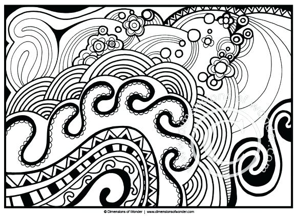 580x422 Abstract Coloring Pages For Adults Plus Coloring Pages For Adults