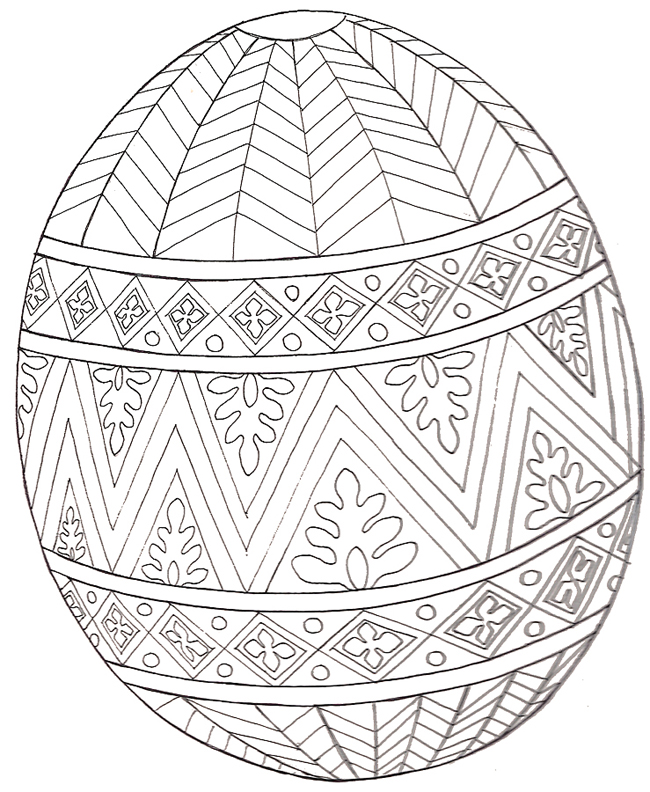 Coloring Pages For Adults Easter
