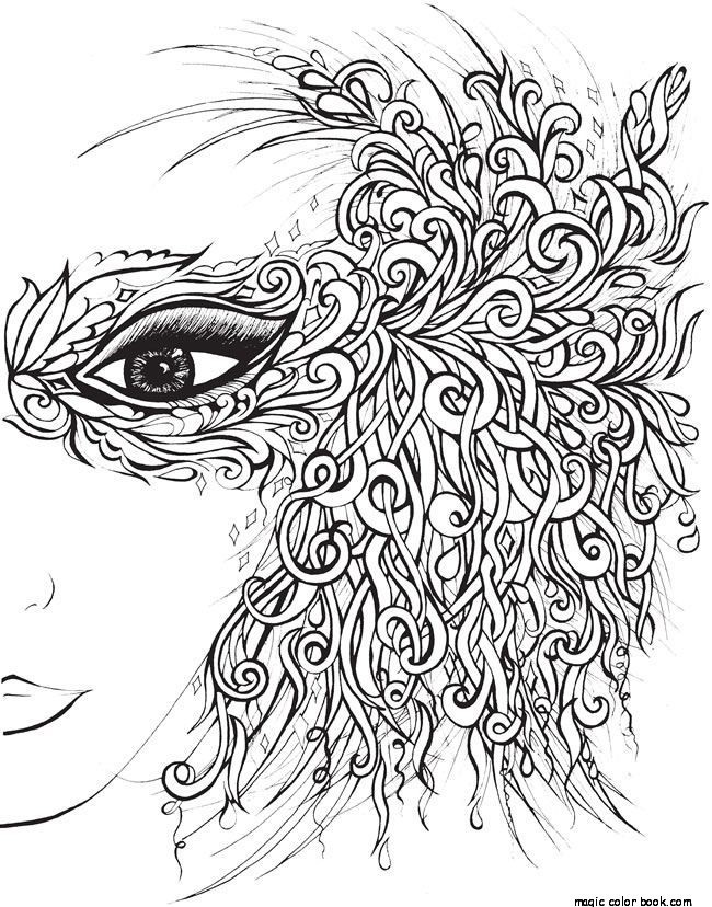 650x828 Girl Prom Dress Adult Coloring Pages Online Free Print