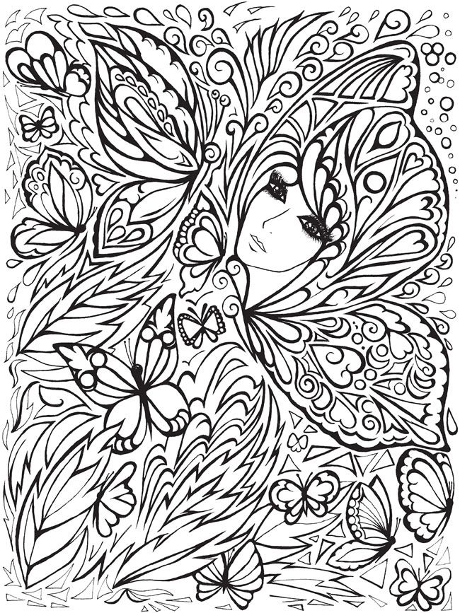 650x867 Best Coloriages Adultes Images On Coloring Pages