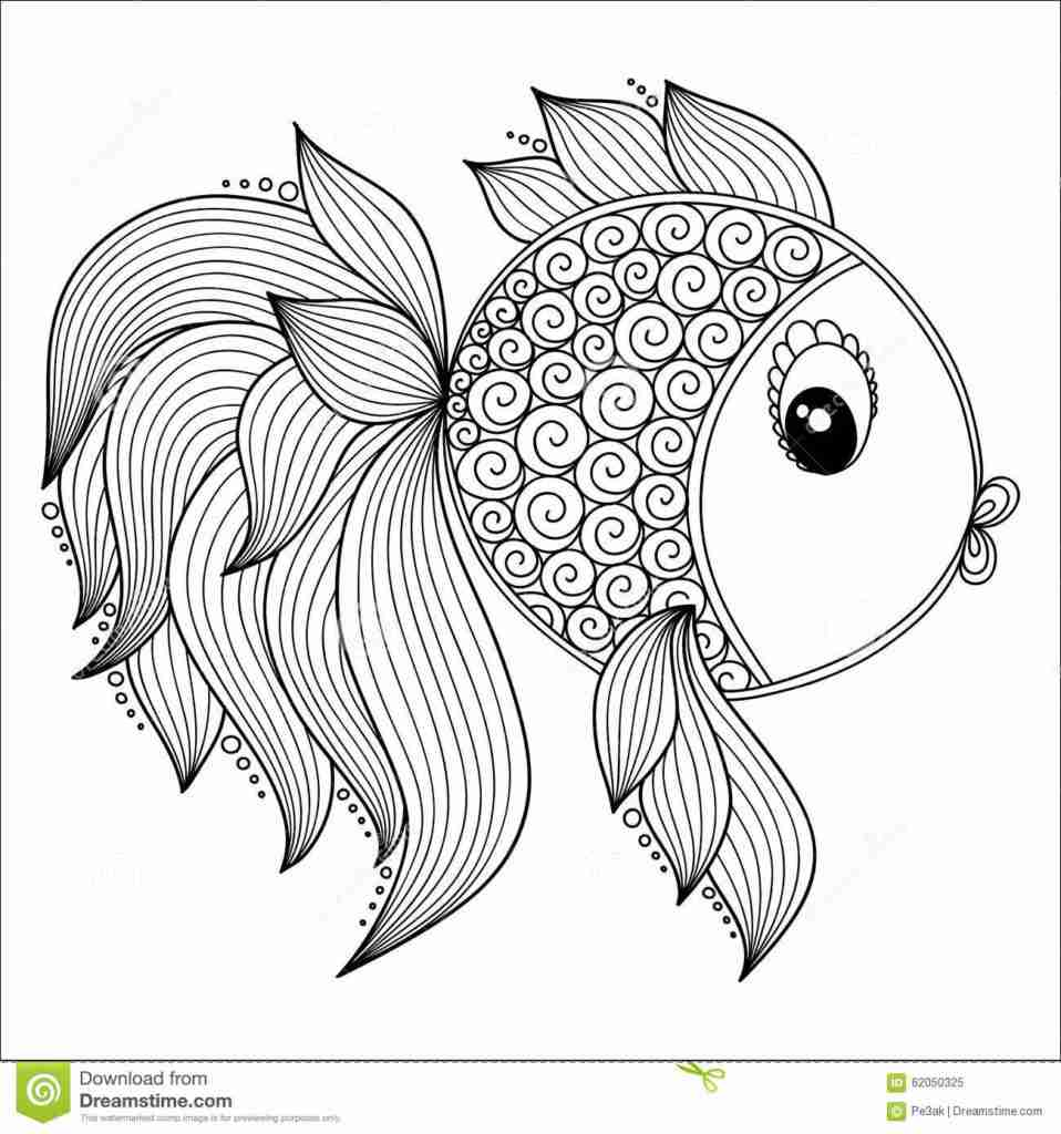 958x1024 Coloring Pages Adult Free Fish Realistic Within Olegratiy