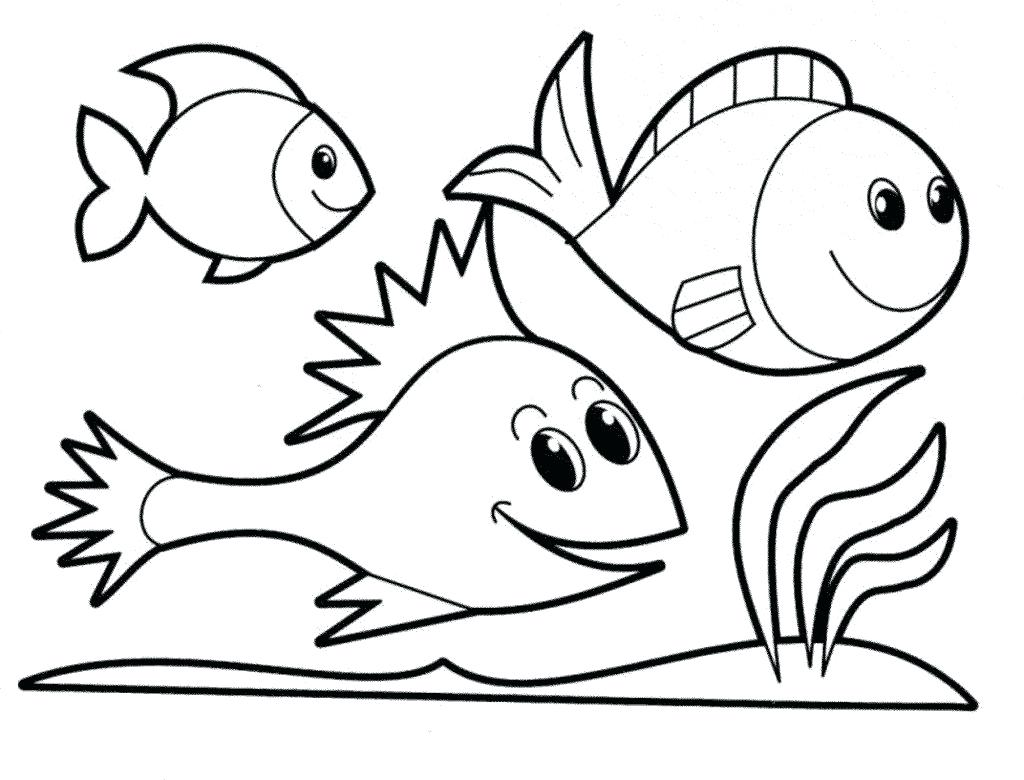 1024x780 Fishing Pole Coloring Pages Adult Printable Fish For Kids New Long