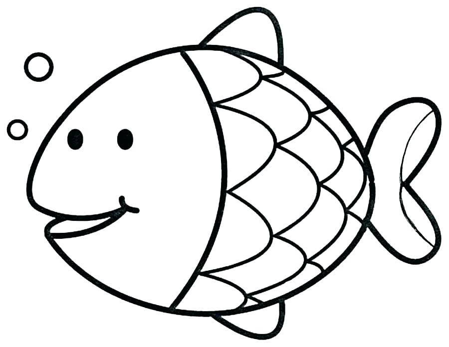 900x696 Fish Coloring Pages For Adults