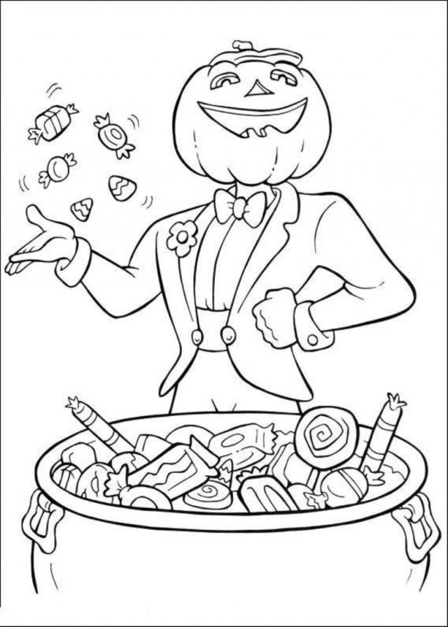640x895 Challenging Halloween Coloring Pages Hard Halloween Coloring Pages