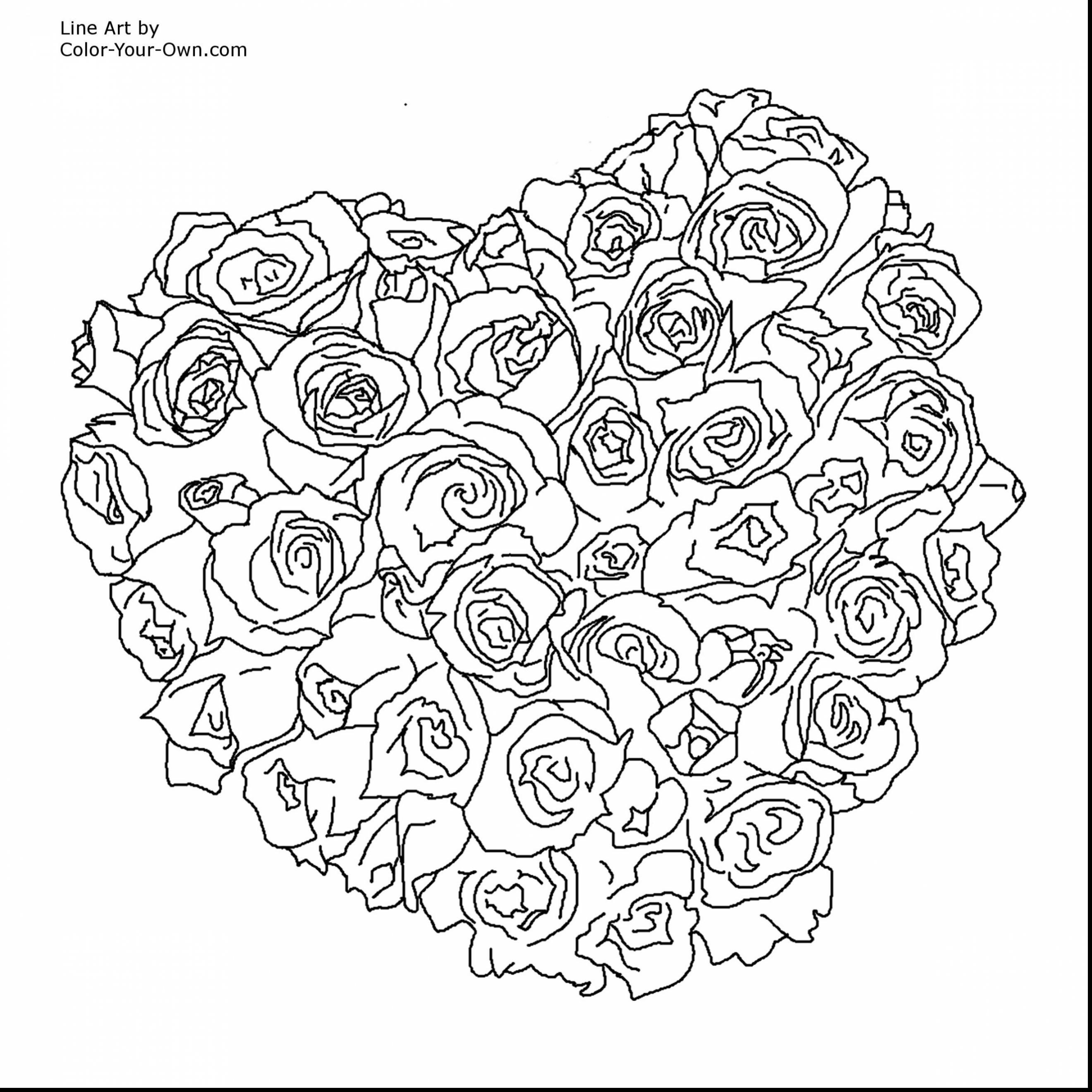 Coloring Pages For Adults Roses At Getdrawings Com Free