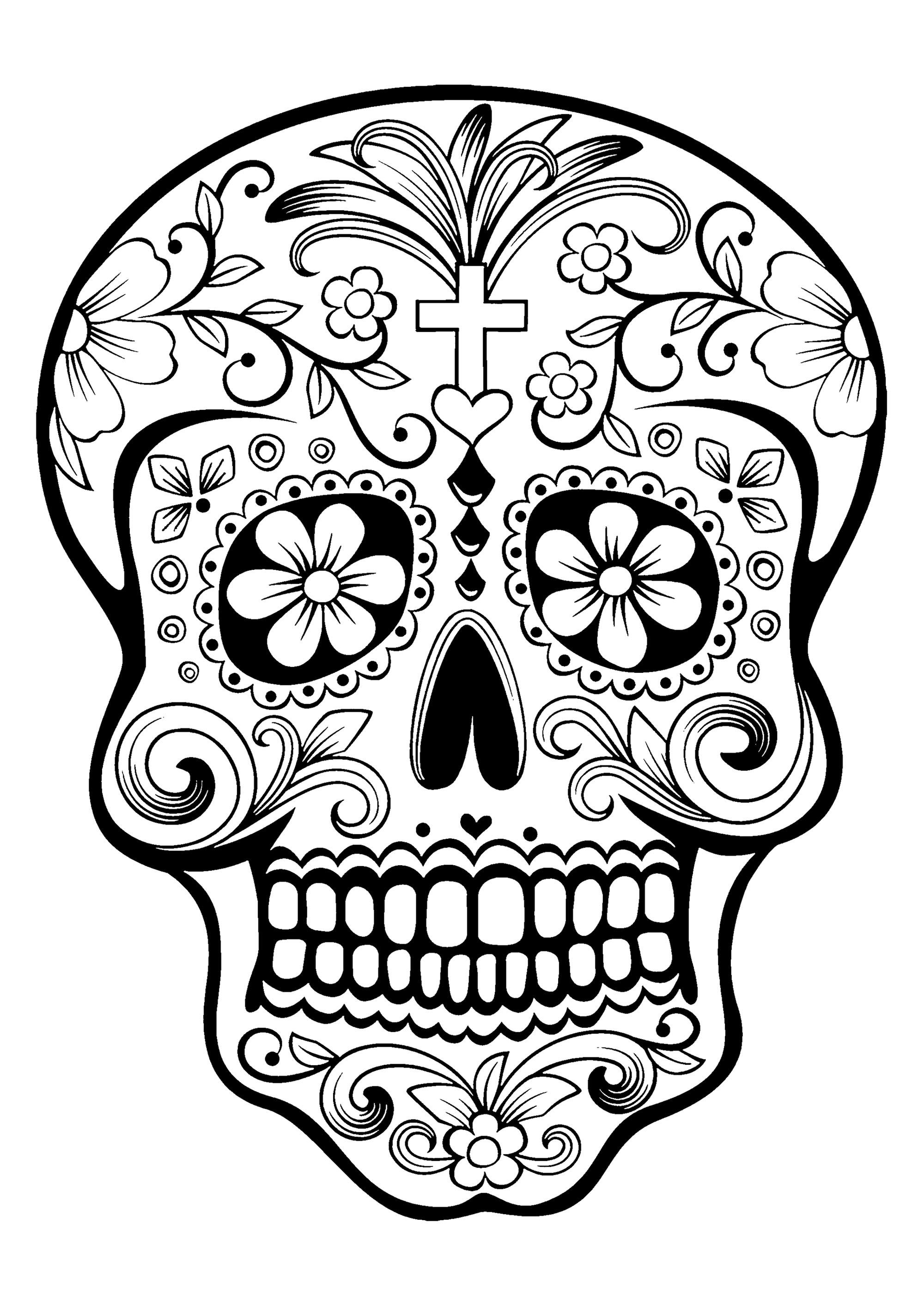 2000x2828 Skull