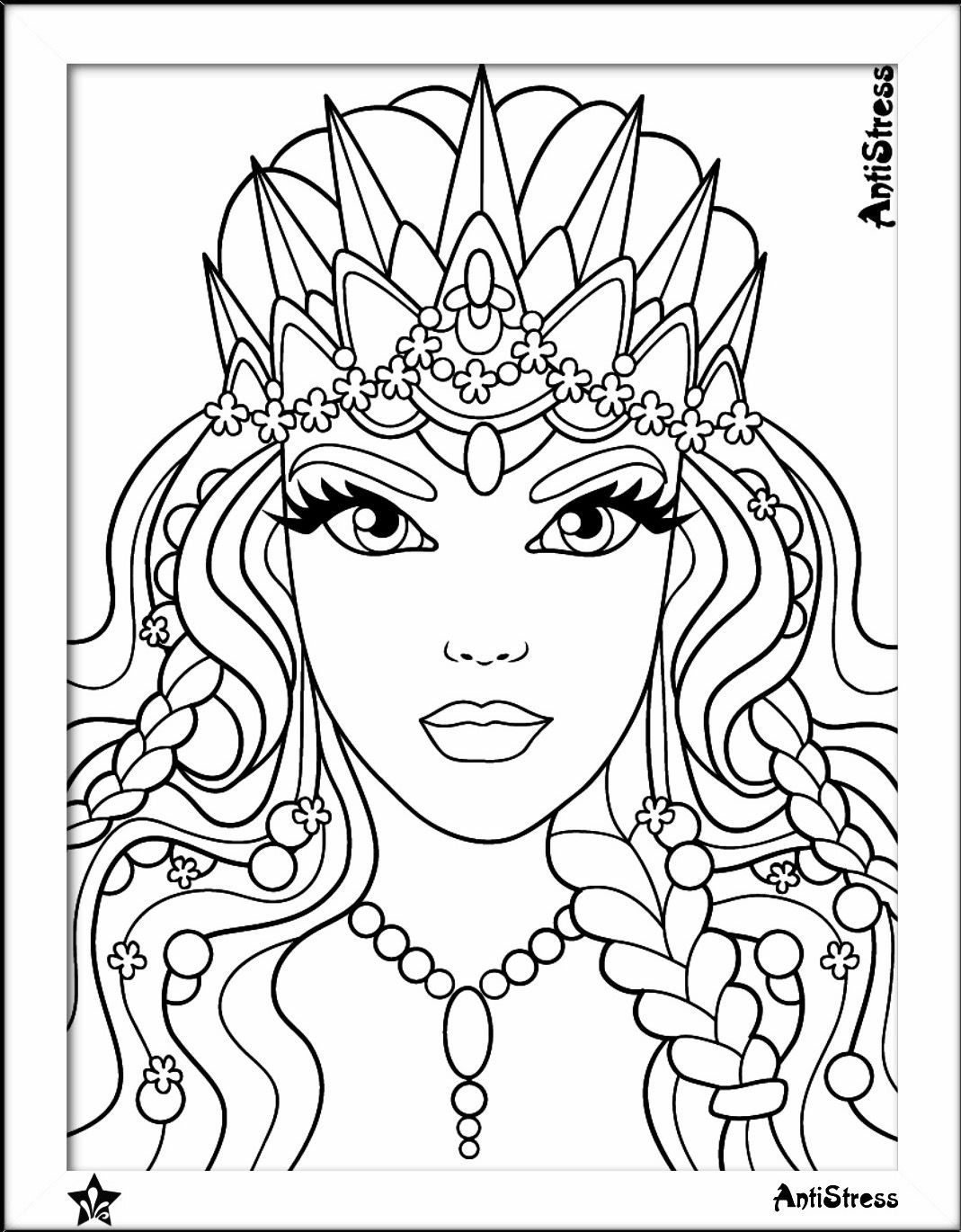 1069x1370 Beauty Coloring Page Beautiful Women Coloring Pages For Adults