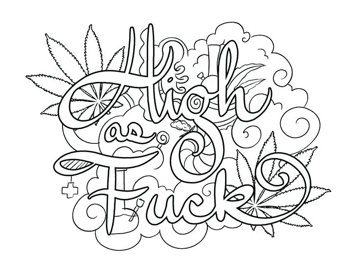 736x568 Swear Word Coloring Pages