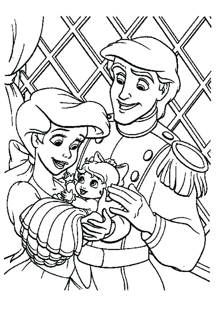 717x1024 Coloring Pages Ariel Shocking Page And Colouring Pages Fish