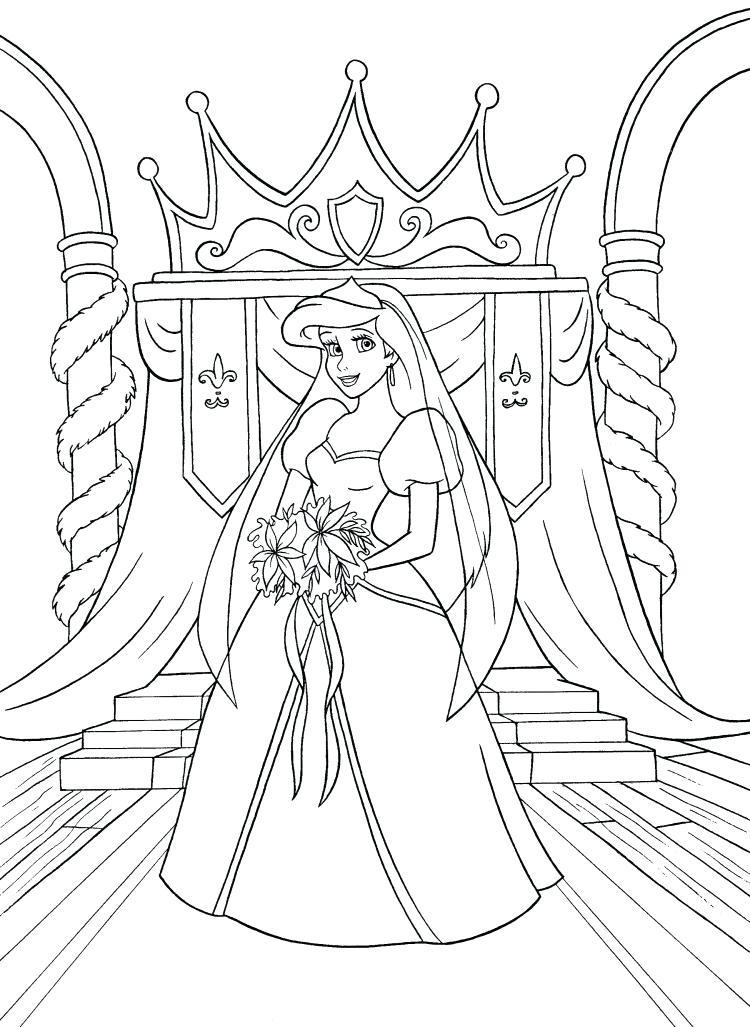 750x1027 Disney Coloring Pages Ariel Coloring Pages Princess Disney