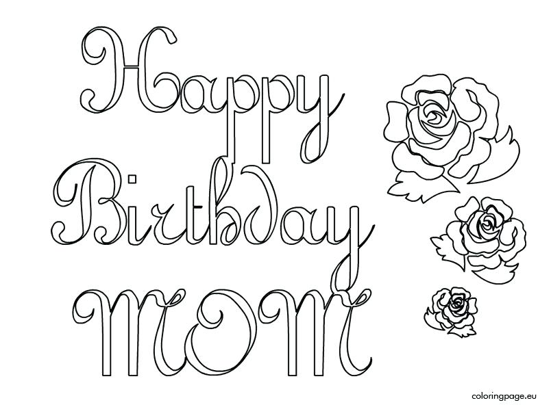 804x595 Happy Birthday Coloring Pages Happy Birthday Coloring Cards