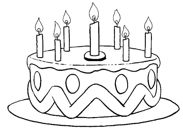Coloring Pages For Birthdays Printables