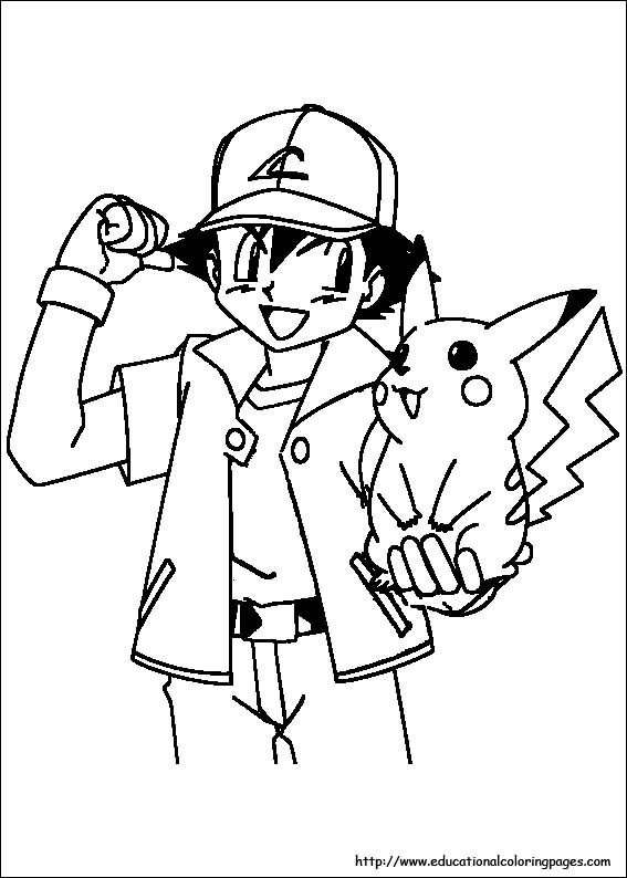 567x794 Pokemon Coloring Pages For Boys