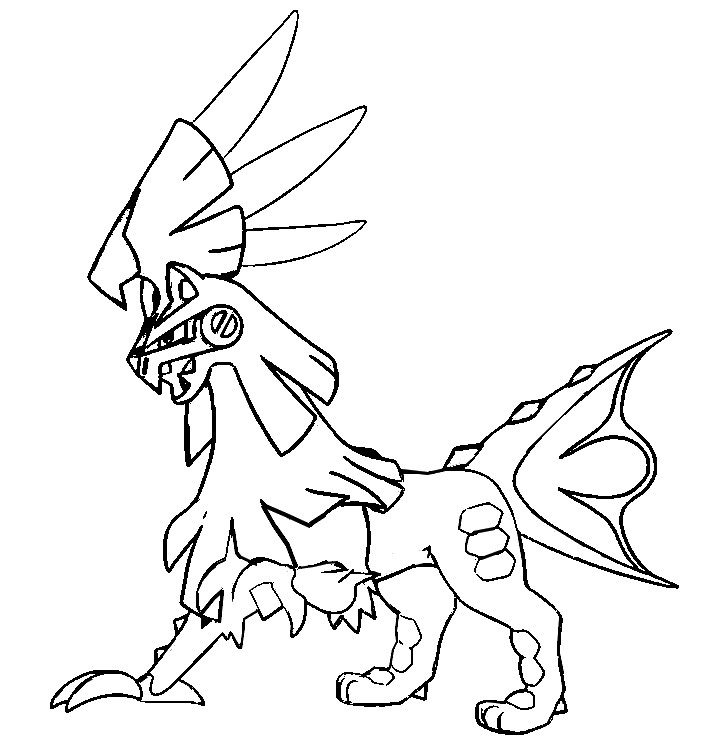 705x750 Coloring Pages Pokemon Sun And Moon Drawing