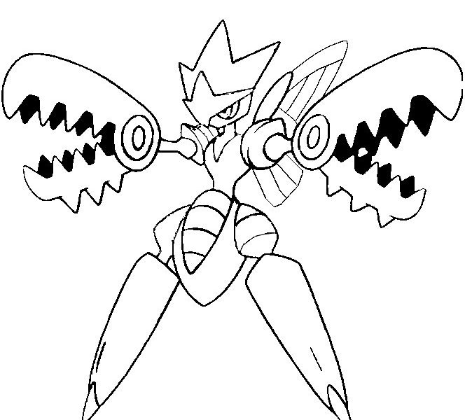 664x600 Mega Pokemon Coloring Pages Coloring Pages Free Printable
